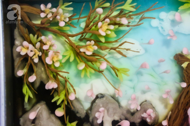 Ngưỡng mộ phù thủy vẽ tranh 3D trên thạch rau câu, đẹp ngây ngất đến mức chẳng ai nỡ ăn - ảnh 2