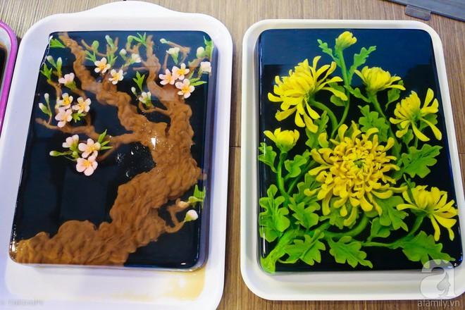 Ngưỡng mộ phù thủy vẽ tranh 3D trên thạch rau câu, đẹp ngây ngất đến mức chẳng ai nỡ ăn - ảnh 7