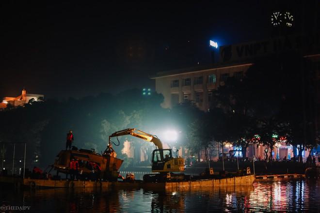 Hà Nội: Bắt đầu nạo vét, cải tạo Hồ Gươm - Ảnh 8.