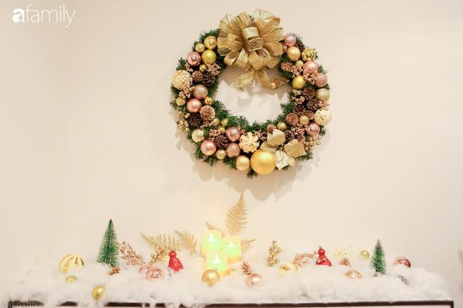 Hai căn hộ được trang trí đậm vị Giáng sinh với chi phí chỉ dưới 10 triệu đồng ở Hà Nội - Ảnh 12.