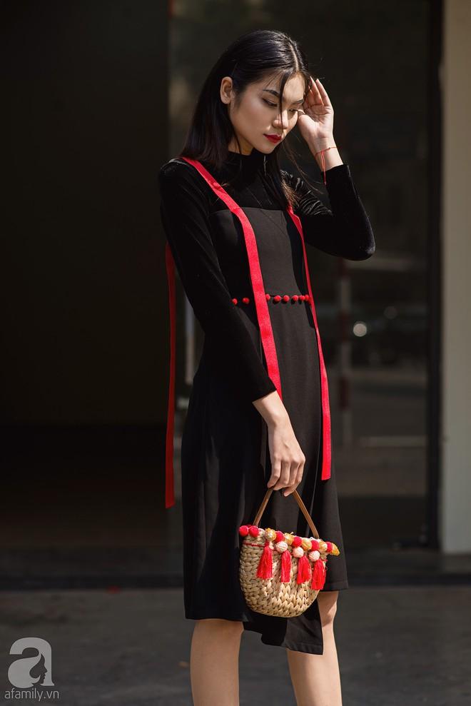 Chuyển lạnh một cái, là street style của các quý cô miền Bắc lại ngập tràn các loại áo len và áo khoác - Ảnh 13.