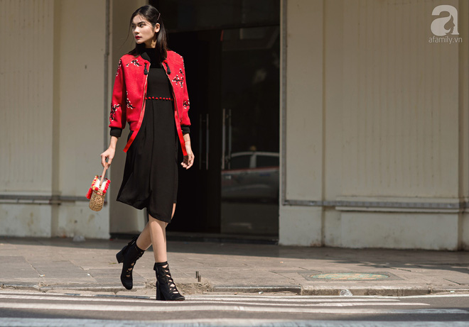 Chuyển lạnh một cái, là street style của các quý cô miền Bắc lại ngập tràn các loại áo len và áo khoác - Ảnh 14.