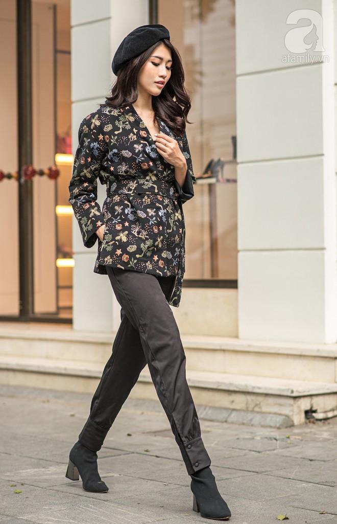 Chuyển lạnh một cái, là street style của các quý cô miền Bắc lại ngập tràn các loại áo len và áo khoác - Ảnh 16.