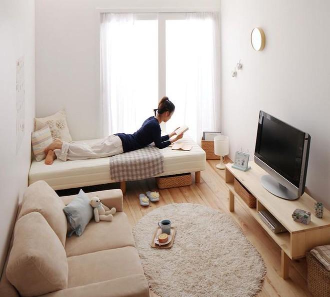 Làm thế nào để bài trí phòng khách nhỏ vỏn vẹn 10m² thành không gian đẹp? - Ảnh 12.