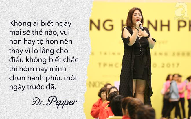 Chuyên gia tâm lý Dr.Pepper bật mí 9 bí quyết dành riêng cho phụ nữ: Muốn hạnh phúc, đừng như cái điều khiển điều hòa - Ảnh 2.