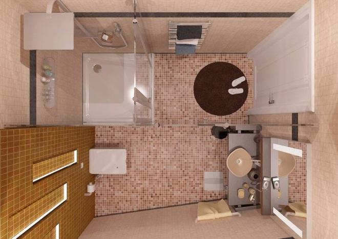 Những lời khuyên thông minh cho nhà tắm diện tích nhỏ thêm tiện dụng  - Ảnh 1.