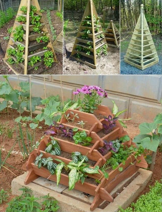 10 ý tưởng trồng cây thẳng đứng tiết kiệm không gian cho nhà chật - Ảnh 2.