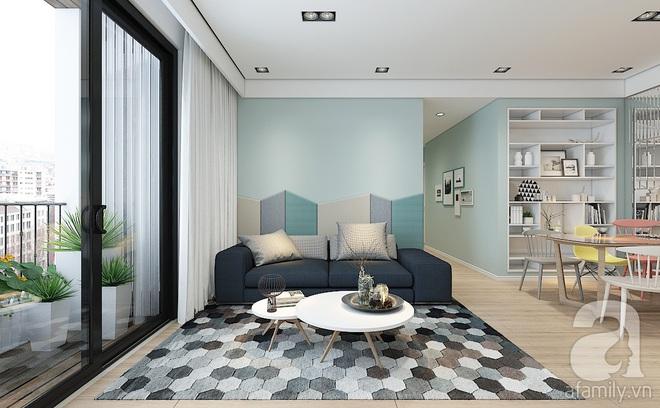Với 240 triệu, KTS đã cải tạo căn hộ 110m2 từ chỗ có mặt bằng lồi lõm trở nên thoáng sáng đến bất ngờ - Ảnh 5.