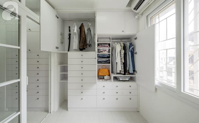 Căn hộ 65m² trắng tinh khôi ở Hà Nội do chính chàng KTS 8x thiết kế cho gia đình mình - Ảnh 11.