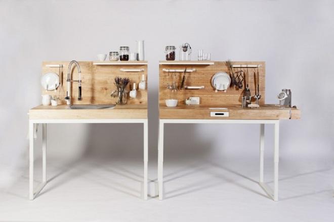 Tủ bếp thông minh - giải pháp hoàn hảo cho những căn bếp chật - Ảnh 1.