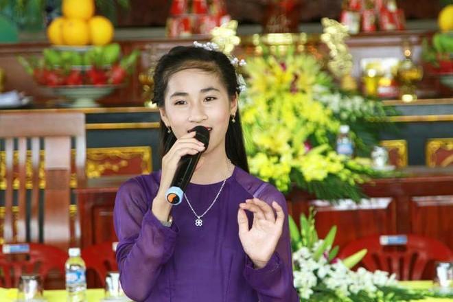 Gặp cô bé 14 tuổi xinh đẹp, hát dân ca ngọt lịm gây bão Giọng hát Việt nhí 2017 - Ảnh 5.