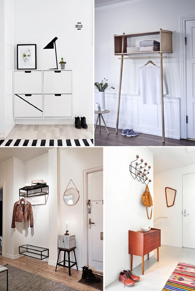 Những thiết kế sảnh căn hộ đậm màu phong cách Bắc Âu - Ảnh 2.