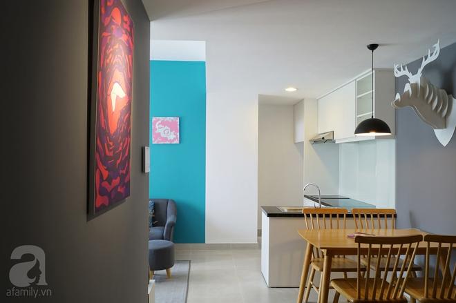 Ngắm căn hộ 76m² vừa tiện nghi, vừa thẩm mỹ với tổng chi phí cải tạo và nội thất chỉ 120 triệu ở Sài Gòn - Ảnh 2.