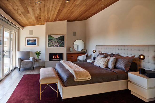 Thiết kế phòng ngủ theo phong cách Midcentury ấm áp đón đông về - Ảnh 1.