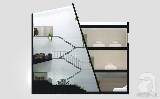 Với 1.5 tỷ đồng, KTS đã hoàn thiện căn nhà ống 3.5 tầng với tổng diện tích gần 300m² - Ảnh 7.