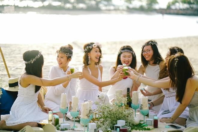 Đám cưới tốn kém và kỳ công không thua sao nổi tiếng hay con nhà tỷ phú của nữ blogger thời trang - Ảnh 8.