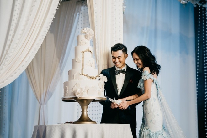 Đám cưới tốn kém và kỳ công không thua sao nổi tiếng hay con nhà tỷ phú của nữ blogger thời trang - Ảnh 2.