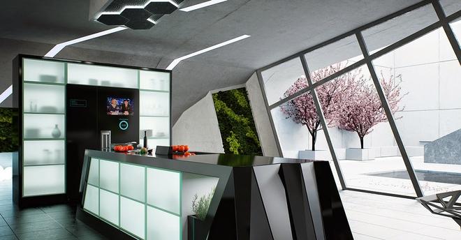 13 mẫu phòng bếp với thiết kế khiến bất kỳ ai cũng ghen tỵ và ao ước - Ảnh 2.