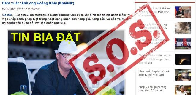Đề nghị cấm xuất cảnh ông chủ Khaisilk: Tin bịa đặt lan tràn - ảnh 1