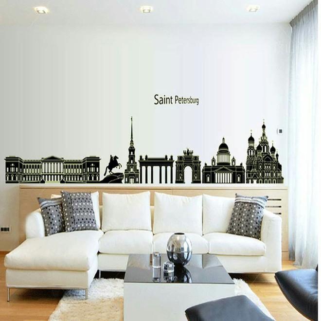 Làm sống lại không gian cũ kỹ bằng cách trang trí tường nhà đơn giản mà tiết kiệm - Ảnh 2.