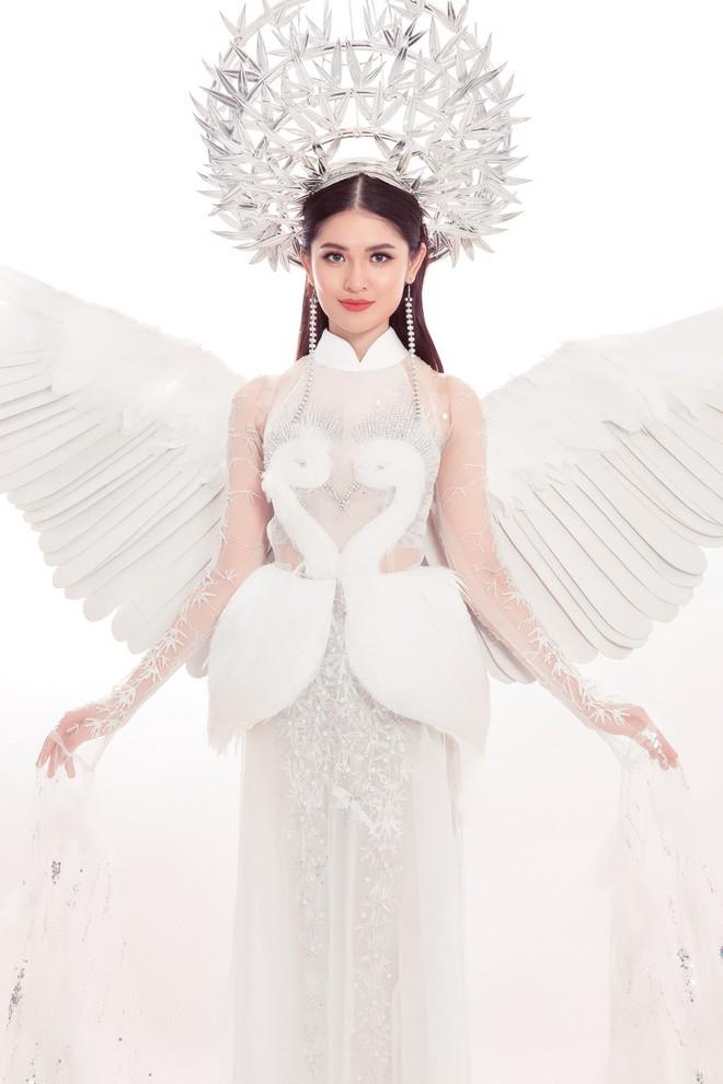 Á hậu Thùy Dung hóa thân thành nàng tiên trong trang phục truyền thống tại Miss International 2017 - Ảnh 2.