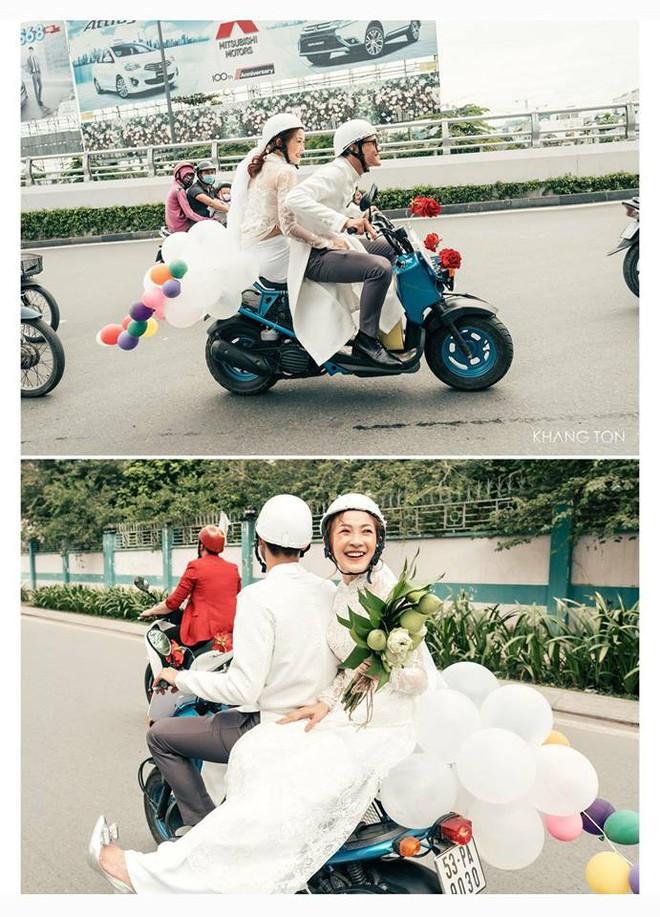 Cả thế giới ra mà xem: Đám cưới sau 9 năm yêu với màn rước dâu tăng động cực chất của cặp đôi Sài Gòn - Ảnh 3.