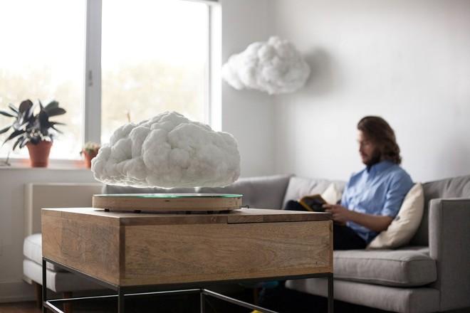 Video: Trang trí phòng khách bay bổng cùng những đám mây nhân tạo   - Ảnh 1.