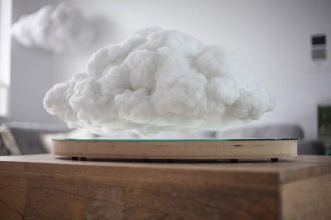 Video: Trang trí phòng khách bay bổng cùng những đám mây nhân tạo   - Ảnh 2.