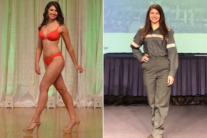 Nối nghiệp bố làm công việc trong mơ, ứng viên cuộc thi Hoa hậu quyết trở thành nhân viên vệ sinh nhặt rác ngoài đường - Ảnh 1.