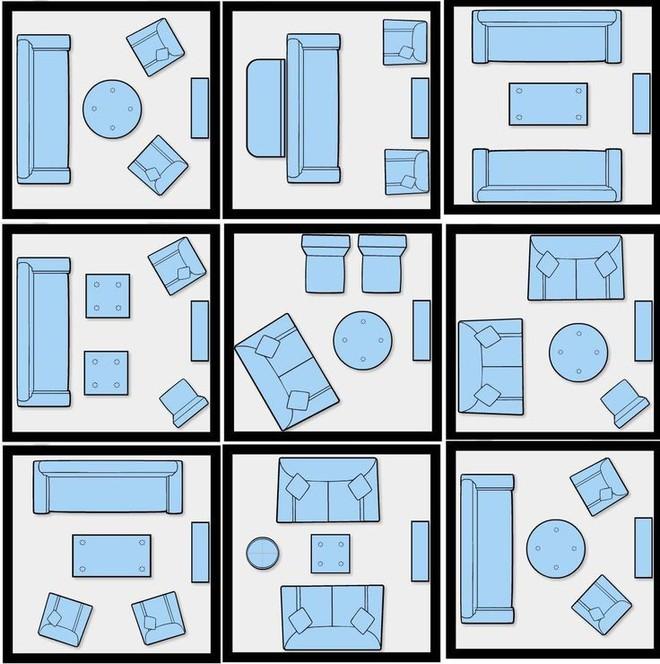 Làm thế nào để bài trí phòng khách nhỏ vỏn vẹn 10m² thành không gian đẹp? - Ảnh 1.