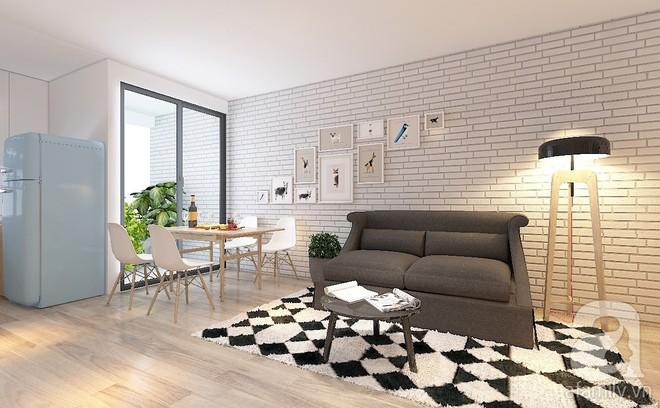 Tư vấn bố trí nội thất căn hộ 67m² với tổng chi phí chưa đến 80 triệu cho chàng trai 23 tuổi độc thân - Ảnh 3.