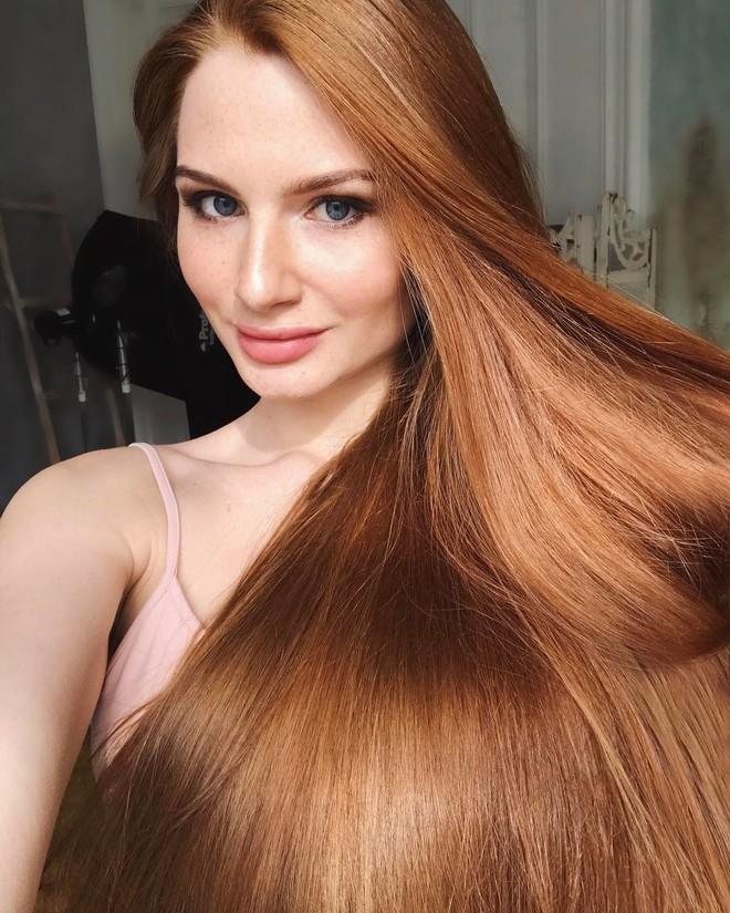 Từng bị rụng tóc đến hói cả đầu, nhờ những bí quyết nhỏ này cô gái Nga đã trở thành nàng Rapunzel đời thực vạn người mê - Ảnh 10.