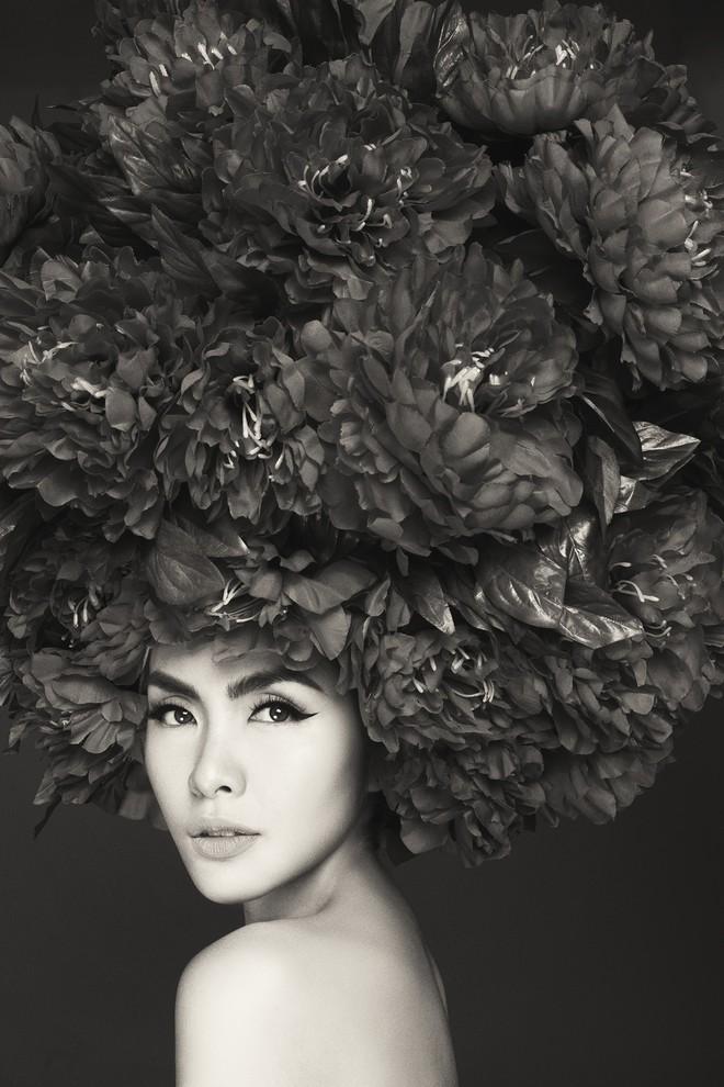 Hà Tăng vai trần, Kỳ Duyên cùng loạt mỹ nhân Việt khác trút bỏ xiêm y trong bộ ảnh của NTK Đỗ Mạnh Cường - Ảnh 2.