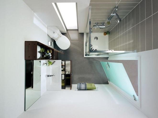 Những lời khuyên thông minh cho nhà tắm diện tích nhỏ thêm tiện dụng  - Ảnh 11.