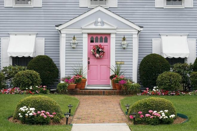 Muôn kiểu cửa nhà có hoa khiến ai ai đi qua cũng phải ngoái nhìn - Ảnh 12.