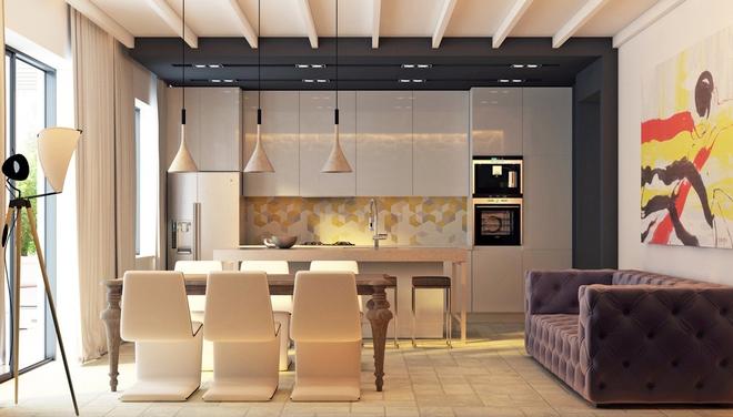 13 mẫu phòng bếp với thiết kế khiến bất kỳ ai cũng ghen tỵ và ao ước - Ảnh 10.