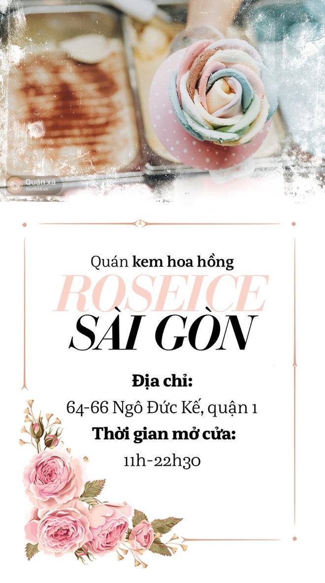 Sài Gòn: Đi thử ngay món kem hoa hồng đang khiến cư dân mạng thế giới sốt xình xịch - Ảnh 15.