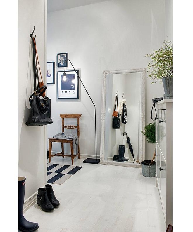 Những thiết kế sảnh căn hộ đậm màu phong cách Bắc Âu - Ảnh 13.