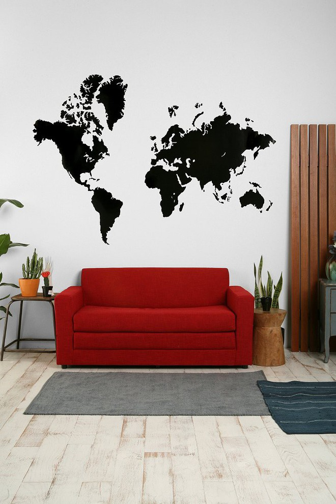 Làm sống lại không gian cũ kỹ bằng cách trang trí tường nhà đơn giản mà tiết kiệm - Ảnh 13.