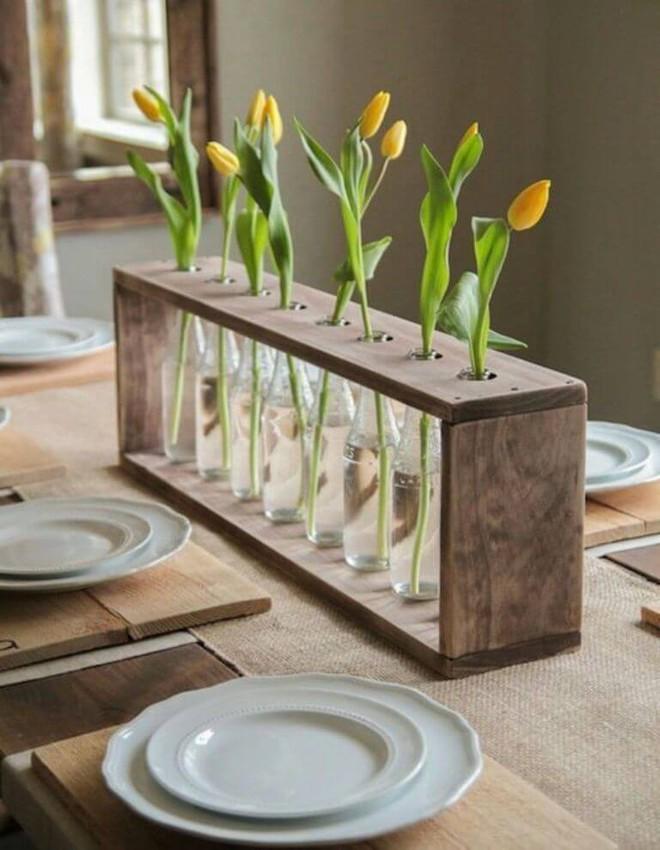 Những cách cắm hoa đơn giản giúp căn nhà từ buồn tẻ trở nên vô cùng sinh động - Ảnh 12.