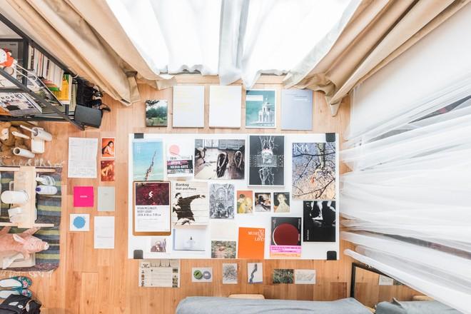 Căn hộ tí hon chưa đầy 20m² vừa đẹp, vừa gọn dù nhiều đồ nhờ sự bố trí nội thất rất thông minh của nữ nhiếp ảnh trẻ - Ảnh 14.
