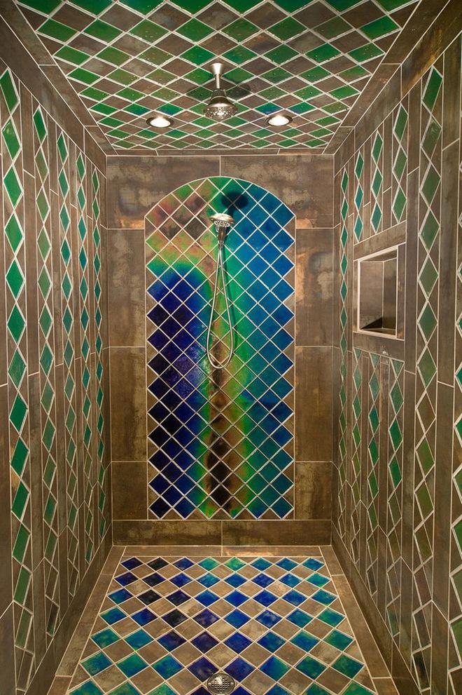 6 cách chọn lựa chất liệu lát phòng tắm giúp tăng hiệu ứng thị giác - Ảnh 14.