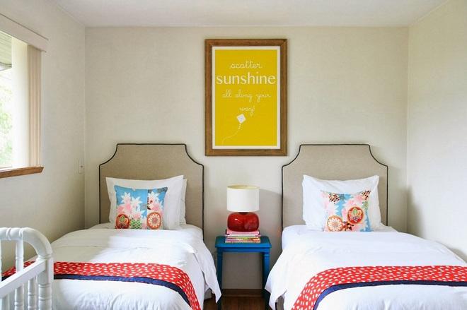 Không gian đầy sức sống của những phòng ngủ không bao giờ lỗi mốt - Ảnh 14.