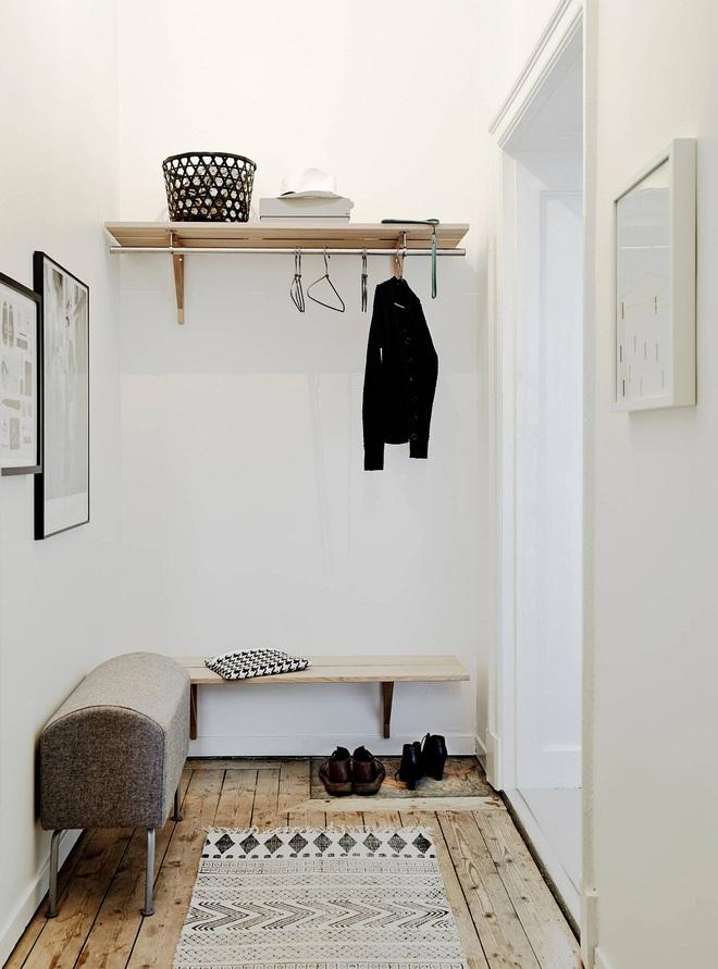 Những thiết kế sảnh căn hộ đậm màu phong cách Bắc Âu - Ảnh 14.