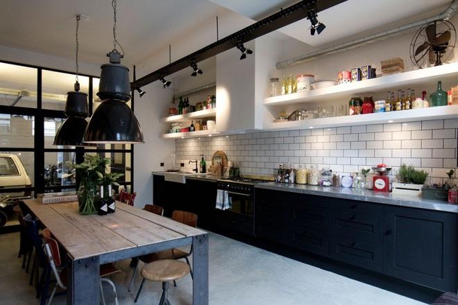Ngắm hoài không chán 16 căn bếp vượt thời gian với gam màu đen – trắng - Ảnh 13.