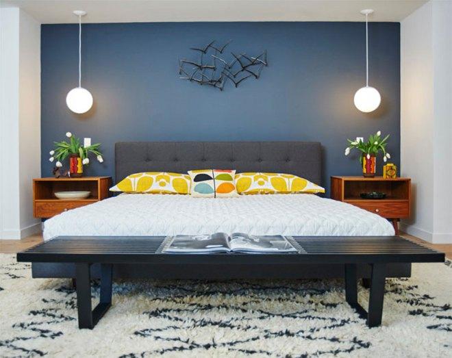Thiết kế phòng ngủ theo phong cách Midcentury ấm áp đón đông về - Ảnh 14.