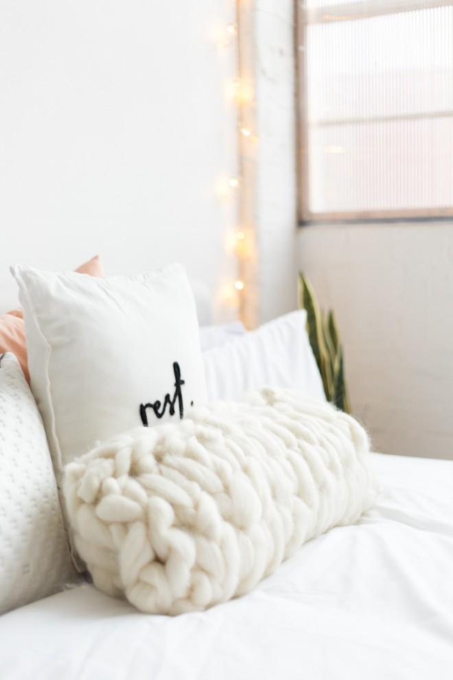 Trang trí phòng khách với gối tựa lưng bằng len siêu đẹp - Ảnh 12.