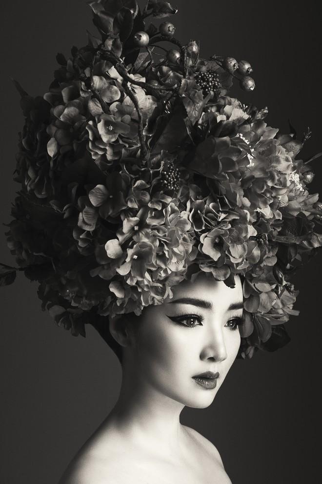 Hà Tăng vai trần, Kỳ Duyên cùng loạt mỹ nhân Việt khác trút bỏ xiêm y trong bộ ảnh của NTK Đỗ Mạnh Cường - Ảnh 15.