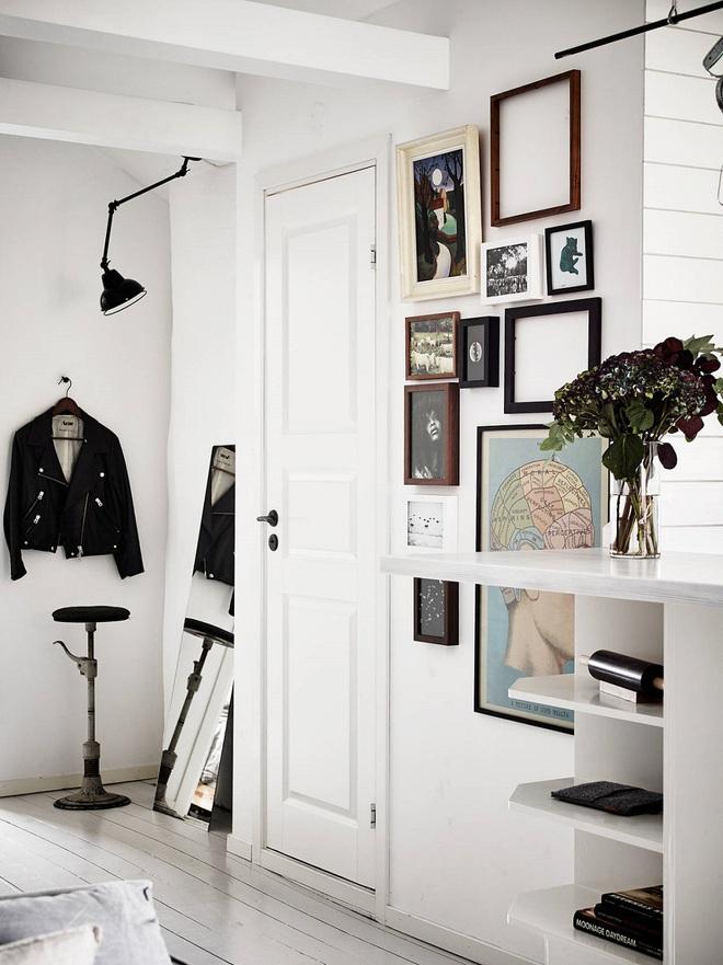 Những thiết kế sảnh căn hộ đậm màu phong cách Bắc Âu - Ảnh 15.