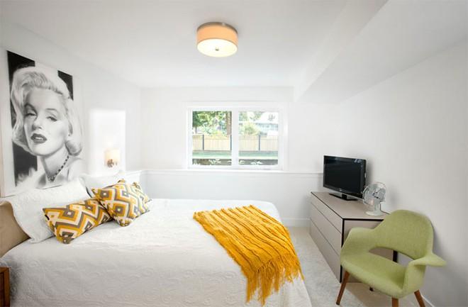 Thiết kế phòng ngủ theo phong cách Midcentury ấm áp đón đông về - Ảnh 15.